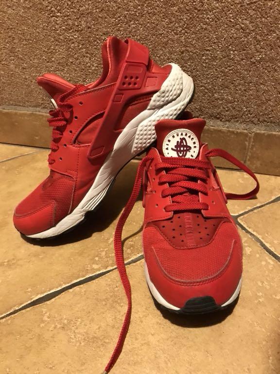 sale retailer 9e0a0 86634 Nike huarache czerwone męskie rozmiar 43 27,5cm - 7223421331 ...