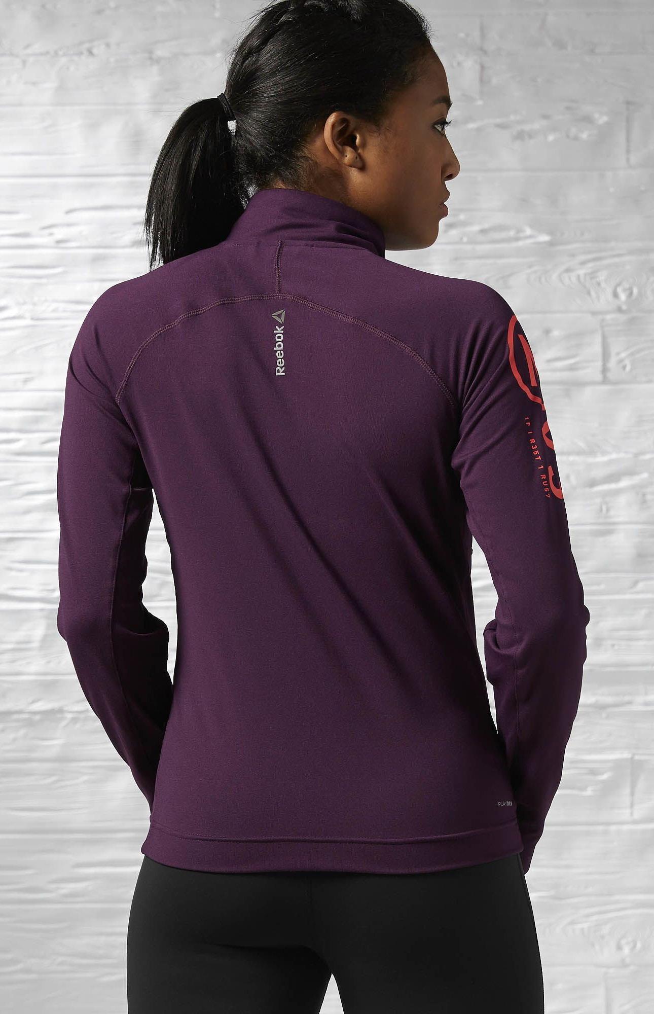fb82b0e0638401 Reebok OS Graphic Track Jacket bluza damska - M - 7125341550 ...