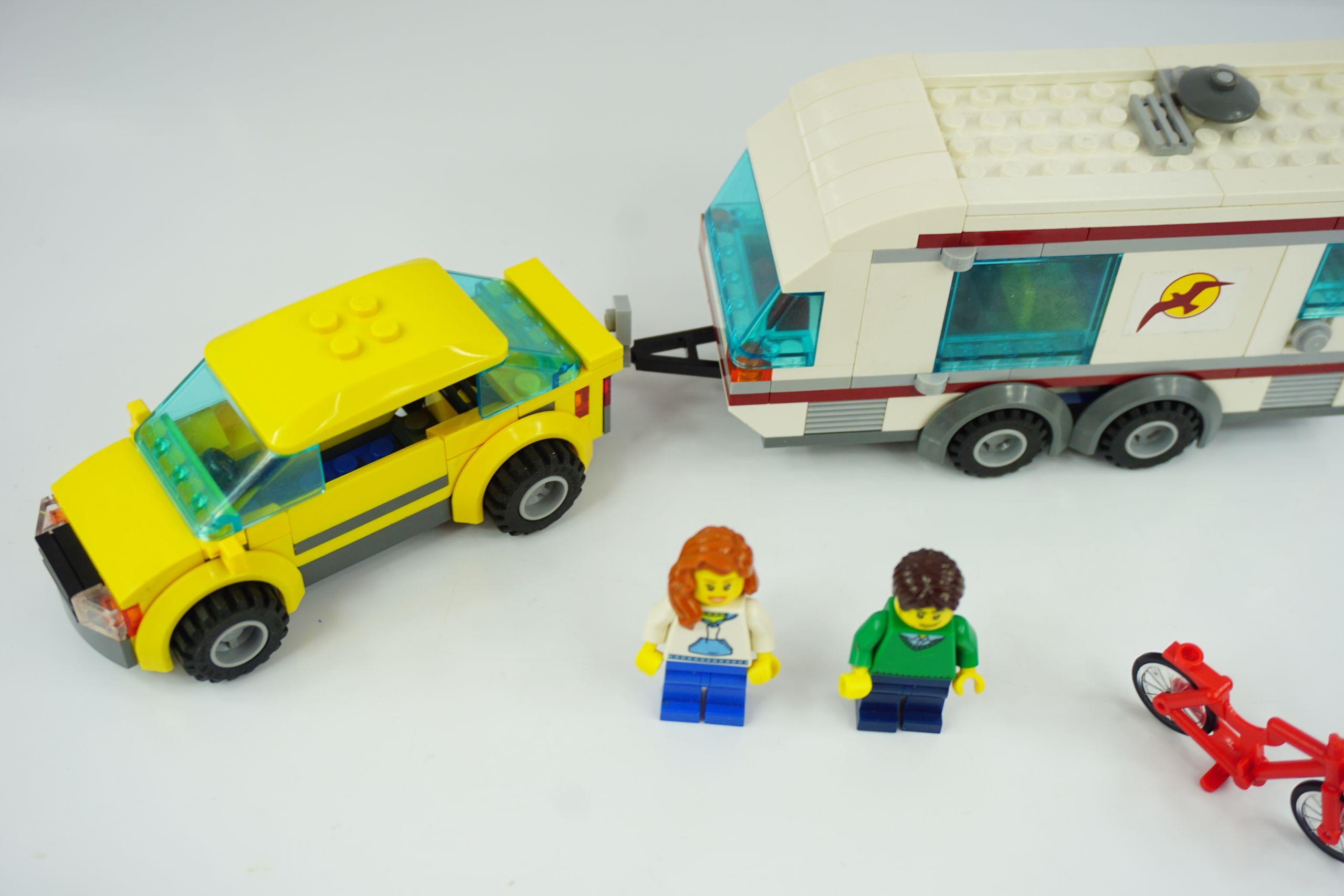 Lego City 4435 Samochód Z Przyczepą Kempingową 7215180194