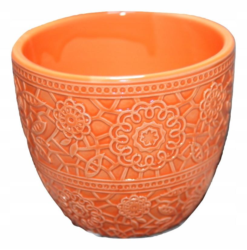 Osłonka Doniczka Ceramiczna Na Zioła 2 Kolory 7352578962