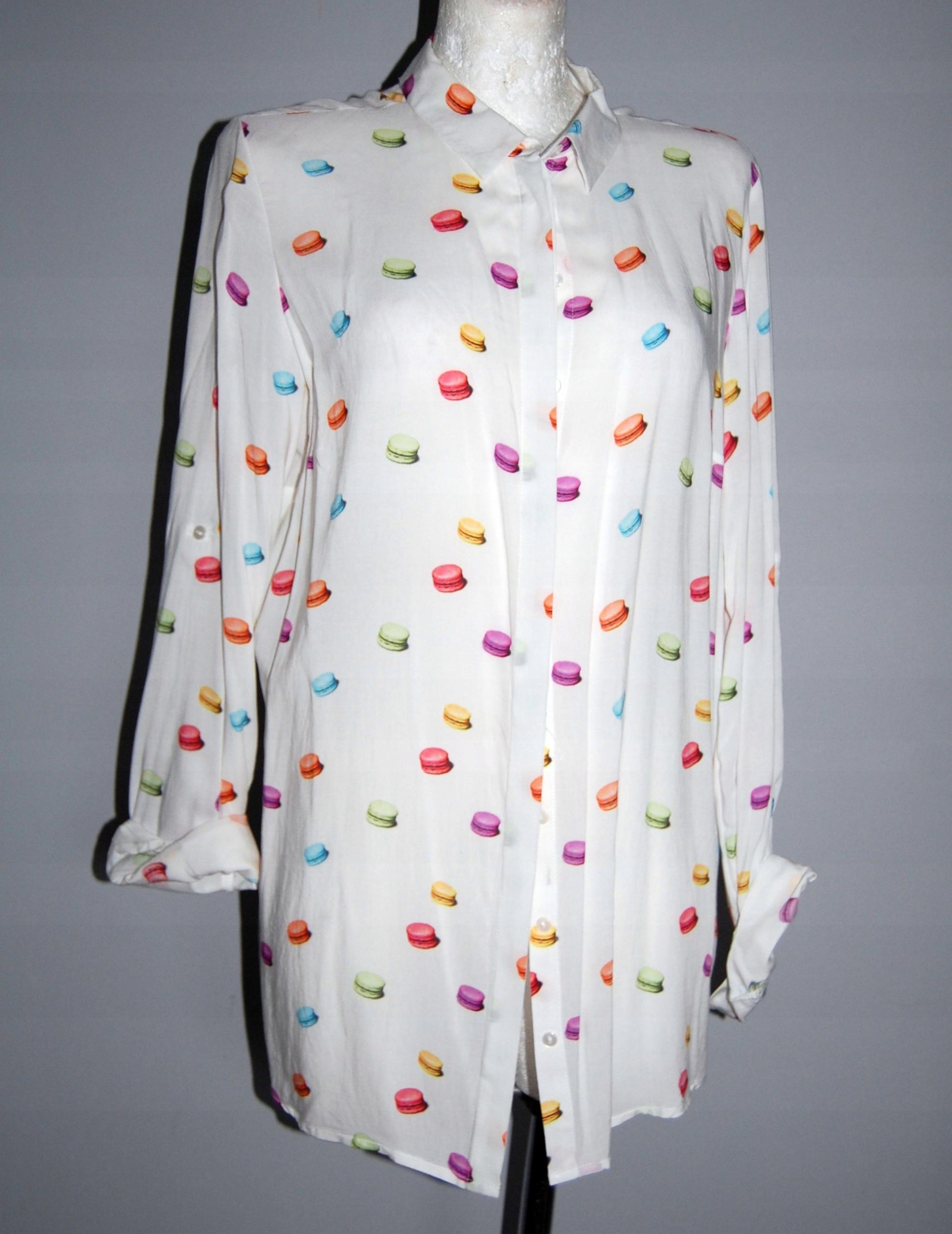 Inteligentny MOHITO biała koszula w makaroniki 42 XL - 7576732925 - oficjalne OT49