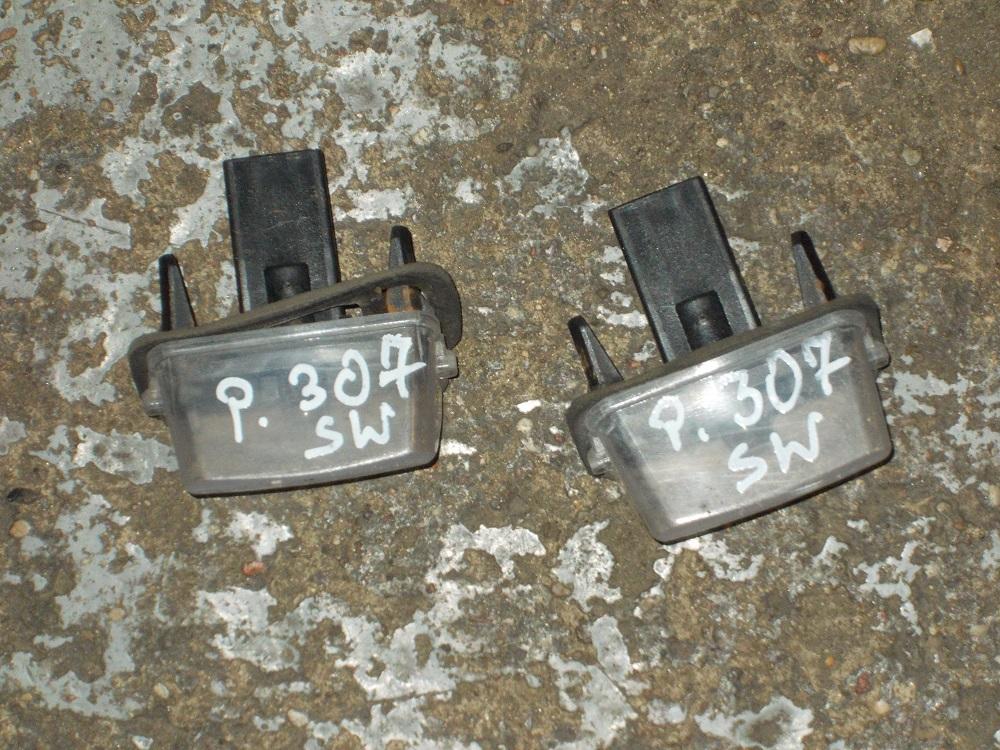 Lampa Oświetlenia Tablicy Peugeot 307 Sw Oryginał