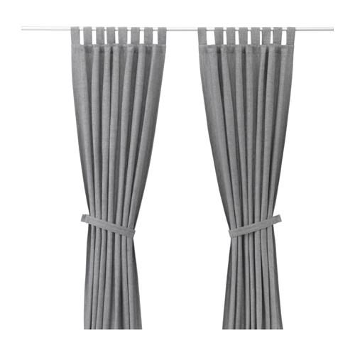 Zasłony Do Salonu Gotowe Zaciemniające Ikea Szare