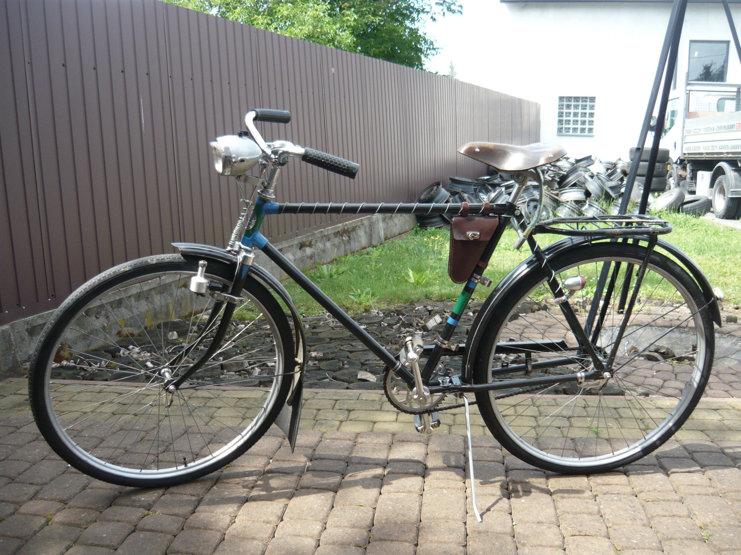 Polski rower Ruch Łucznik 1960r stan bardzo dobry