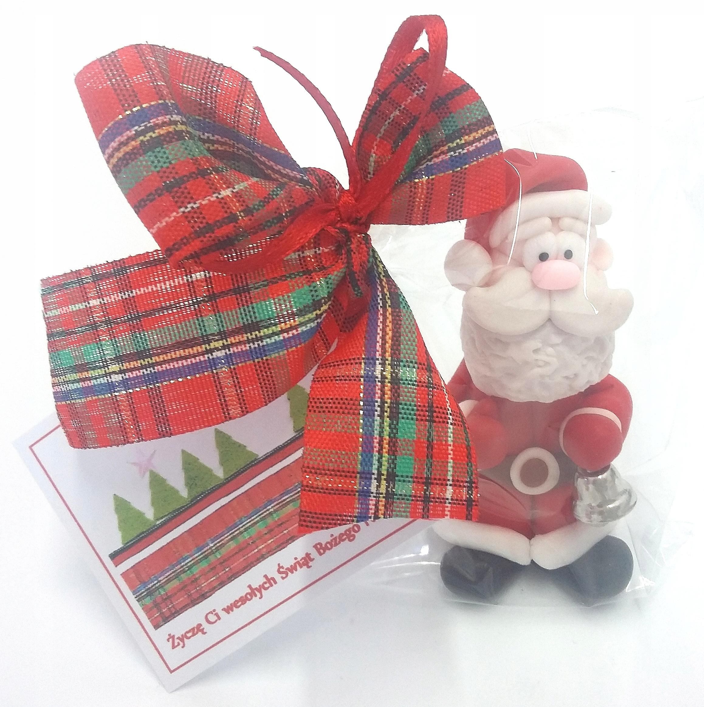 Mikołaj Boże Narodzenie ozdoby choinkowe mikołajki