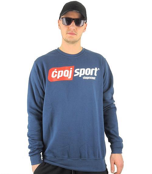 Bluza STOPROCENT cpajsport navy blue, rozmiar:L (1