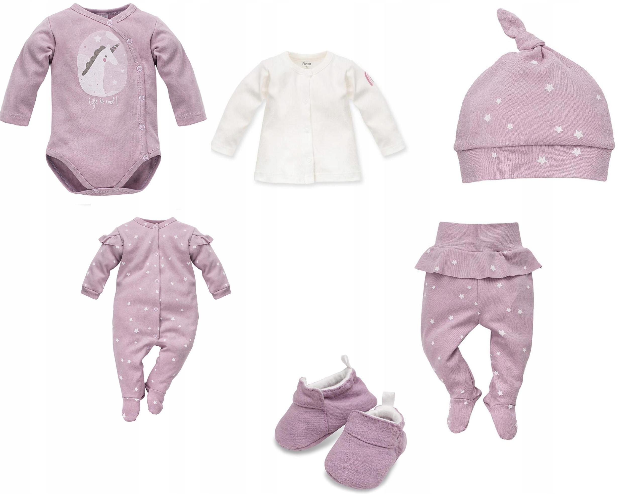 8f0702affd Zestaw ubranek wyprawka dla niemowlaka Unicorn r62 - 7623915109 ...