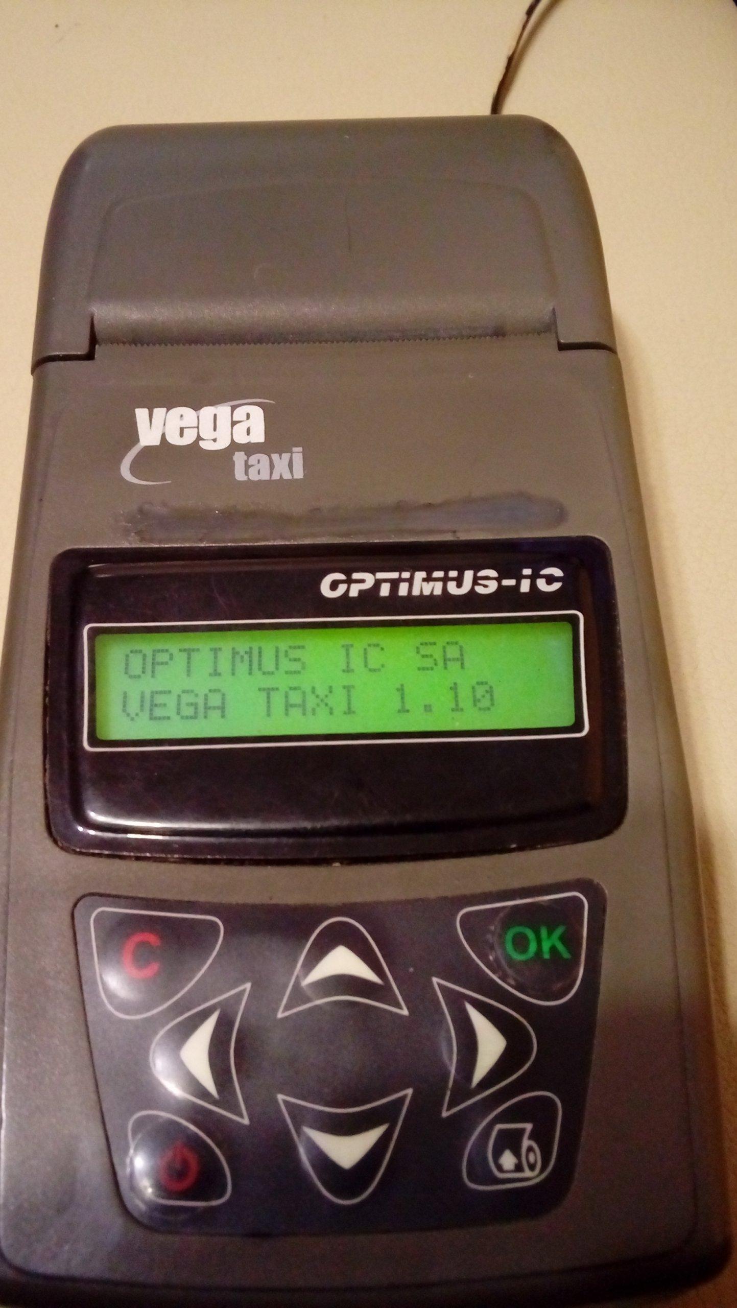 Bardzo dobra Vega Taxi - kasa fiskalna - używana - 7215863383 - oficjalne TG08