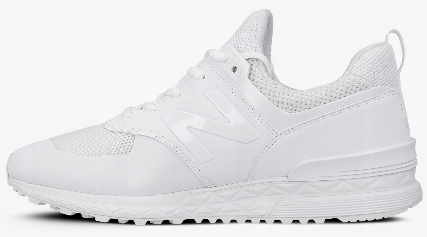 new product 38c55 3f8d3 44,5 BUTY NEW BALANCE MS574SWT BIAŁE - 7494759169 ...
