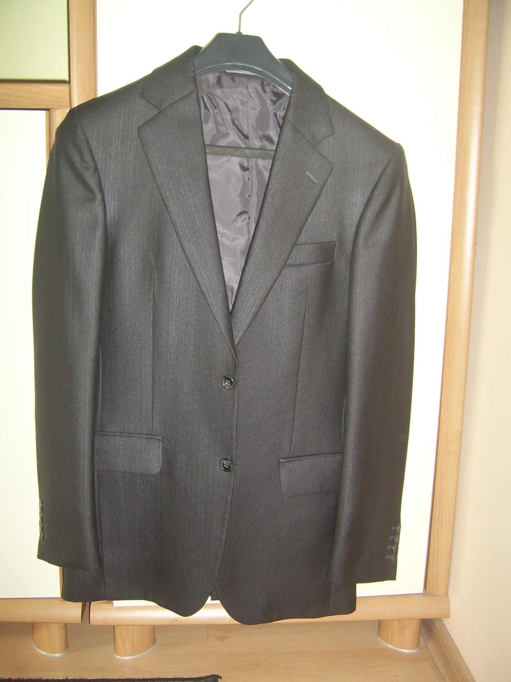 f773f36b5a4e8 Elegancki garnitur męski w roz 182/92/80 - 7194042837 - oficjalne ...