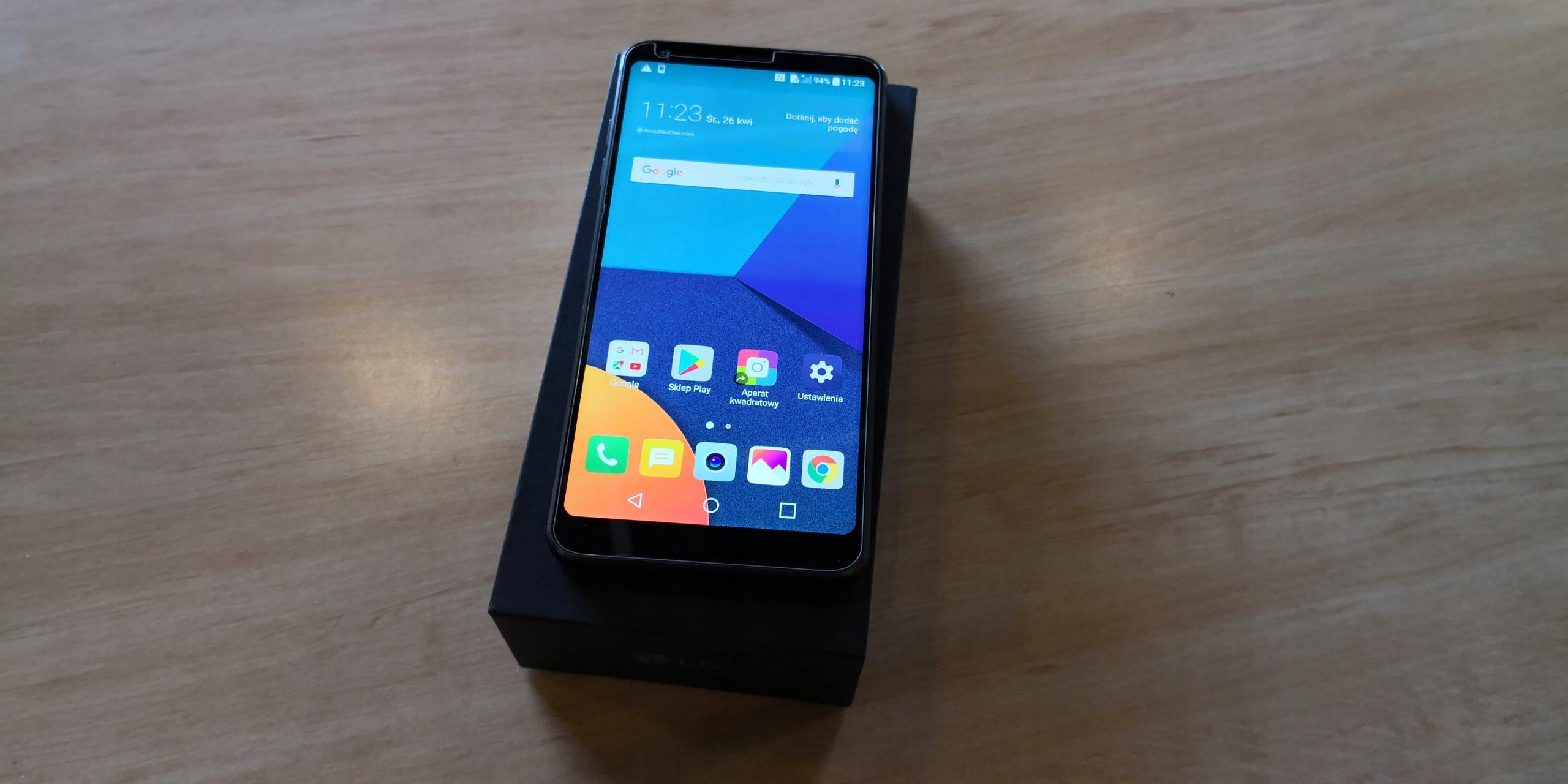 LG G6 CZARNY 32GB POZNAŃ SKLEP OPOLSKA