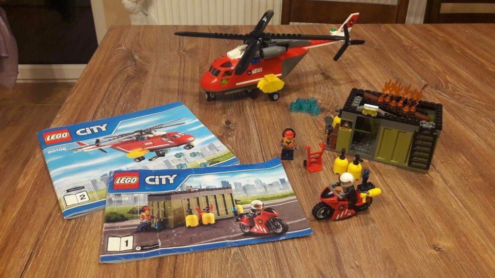 Lego City Helikopter Strażacki 60108 7698146032 Oficjalne