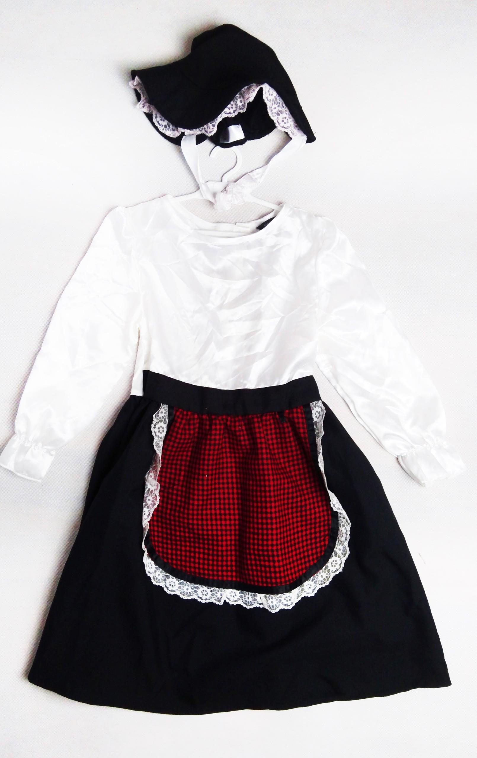 1f7f8242dc144c 47 Gosposia kostium strój przebranie 122 128 - 7438258774 ...