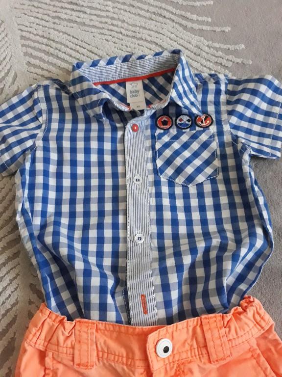 Komplet koszula i spodenki 80 7245377309 oficjalne
