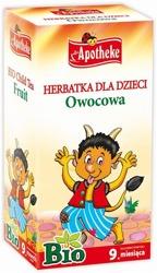 HERBATKA DLA DZIECI - OWOCOWA BIO 20x2g APOTHEKE