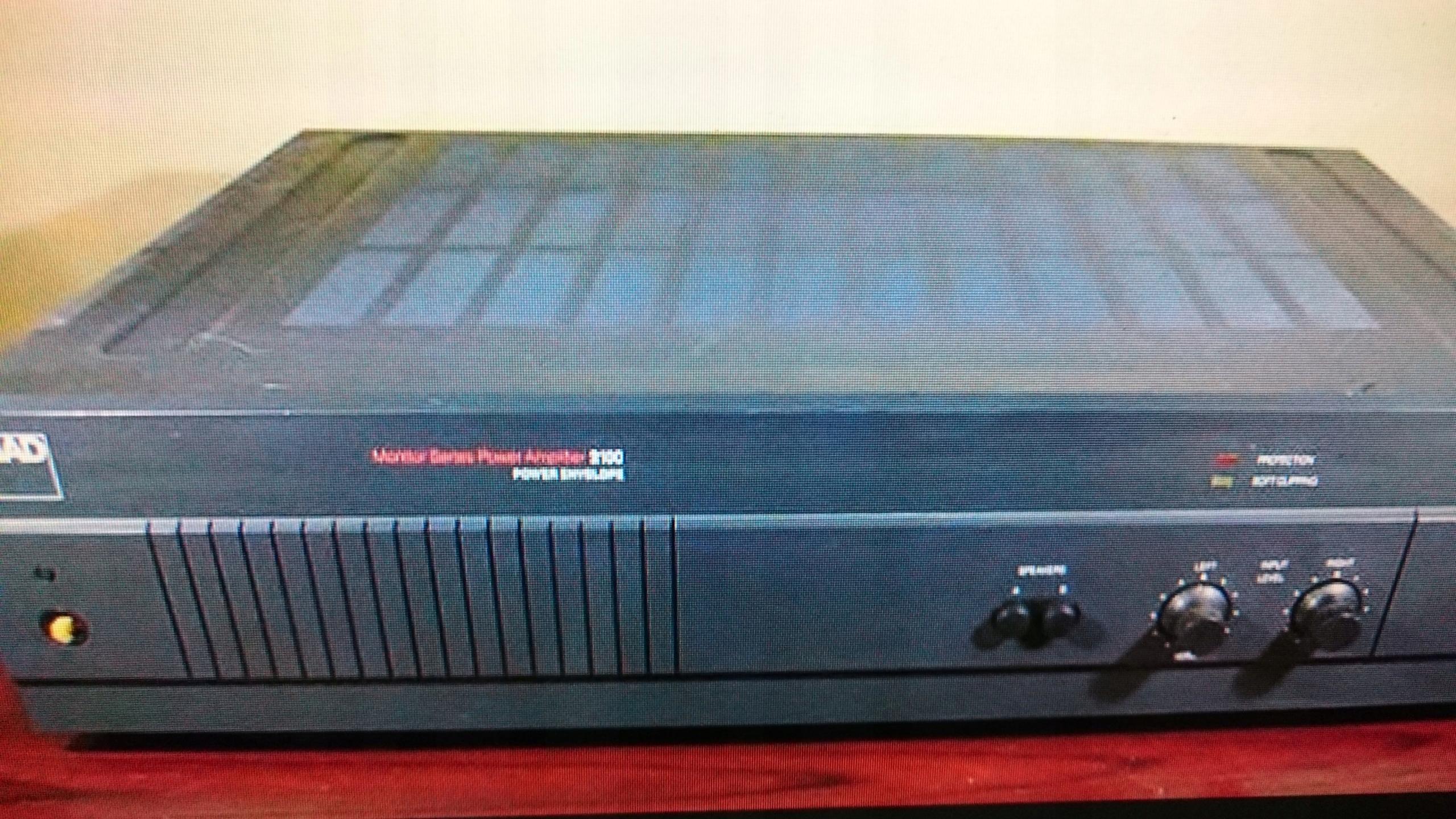 NAD 2100+ phono preamp  Legenda  Sn 117db