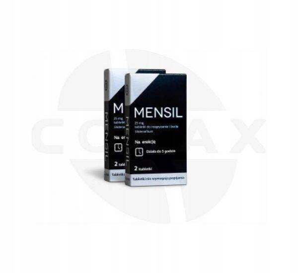 Mensil 25 mg 2 tabletki na POTENCJE