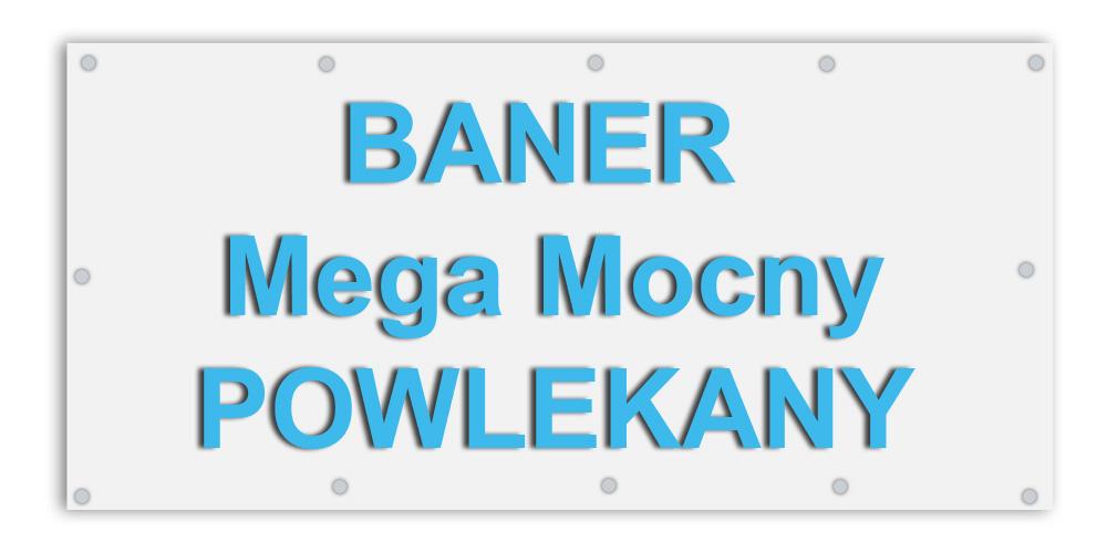 Baner Banery Powlekany Mocny Jakość Proj 2880 Dpi 6600738307