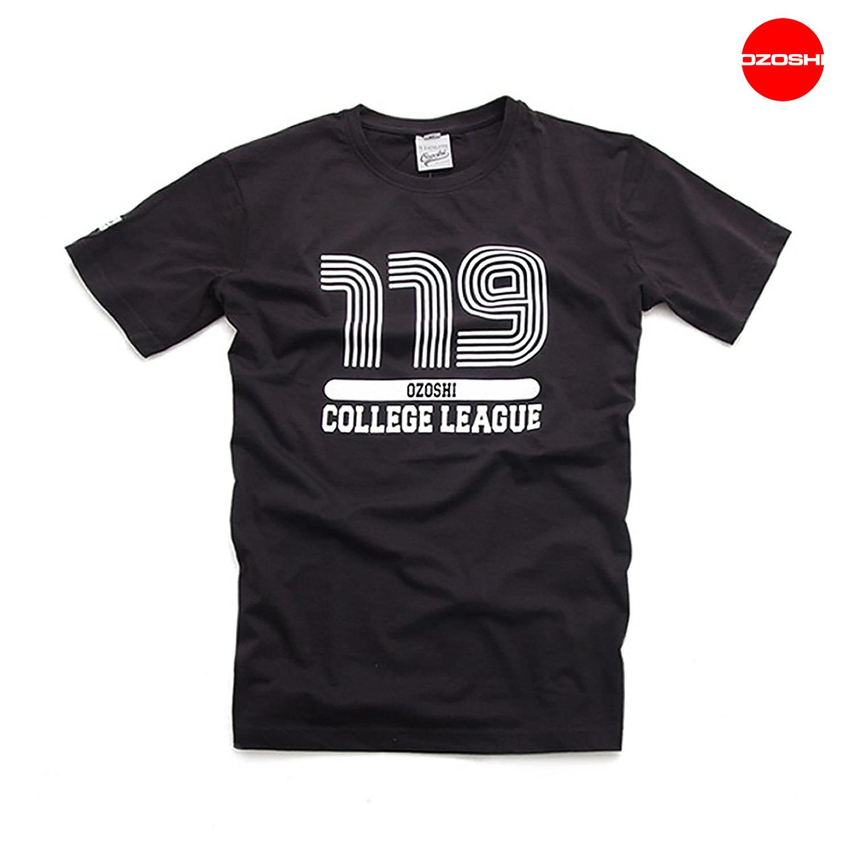a25fed8676 T-shirt męski Ozoshi TSH COLLEGE czarny (S) - 6723128270 - oficjalne ...