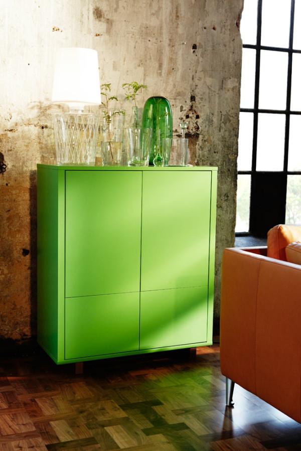 Kredens Ikea Stockholm Zielony 7179359736 Oficjalne Archiwum Allegro