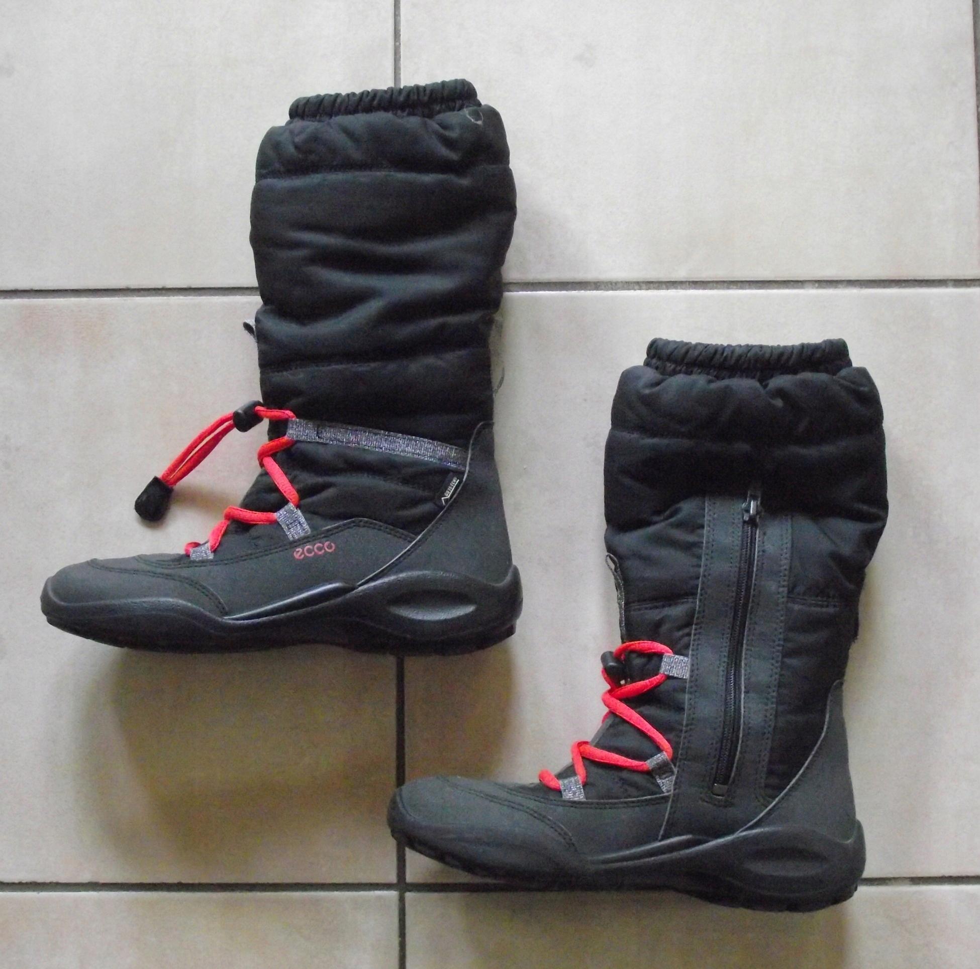 d71d8922d44c38 Śniegowce Ecco Gore-tex 34    praktycznie nowe    - 7594787866 ...