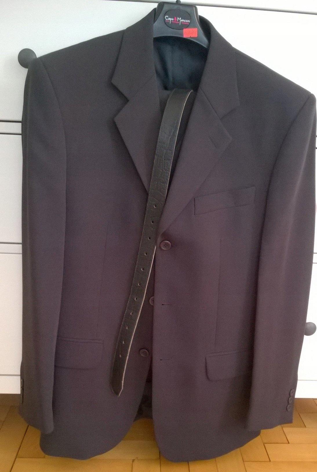 e16407898b35c GARNITUR MĘSKI rozm L + GRATIS krawat/koszula - 7373546305 ...