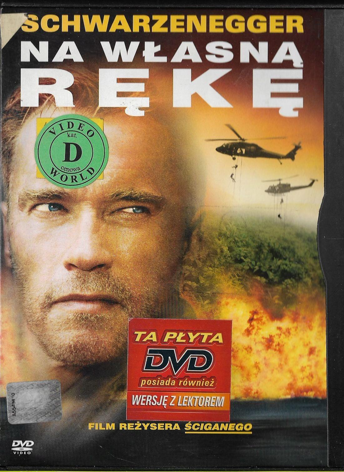 Na własną rękę / A.Schwarzenegger DVD lektor PL