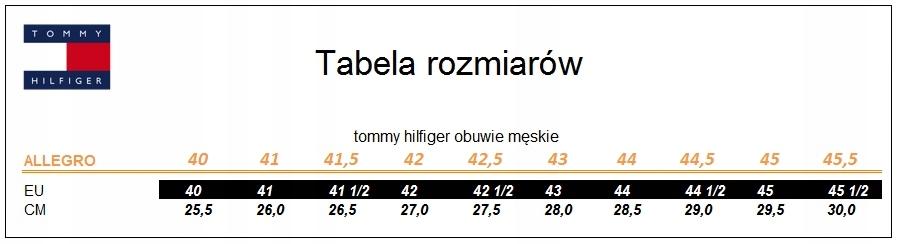 77b050dd97040 Buty Tommy Hilfiger rozmiar 43 - 7527598560 - oficjalne archiwum allegro