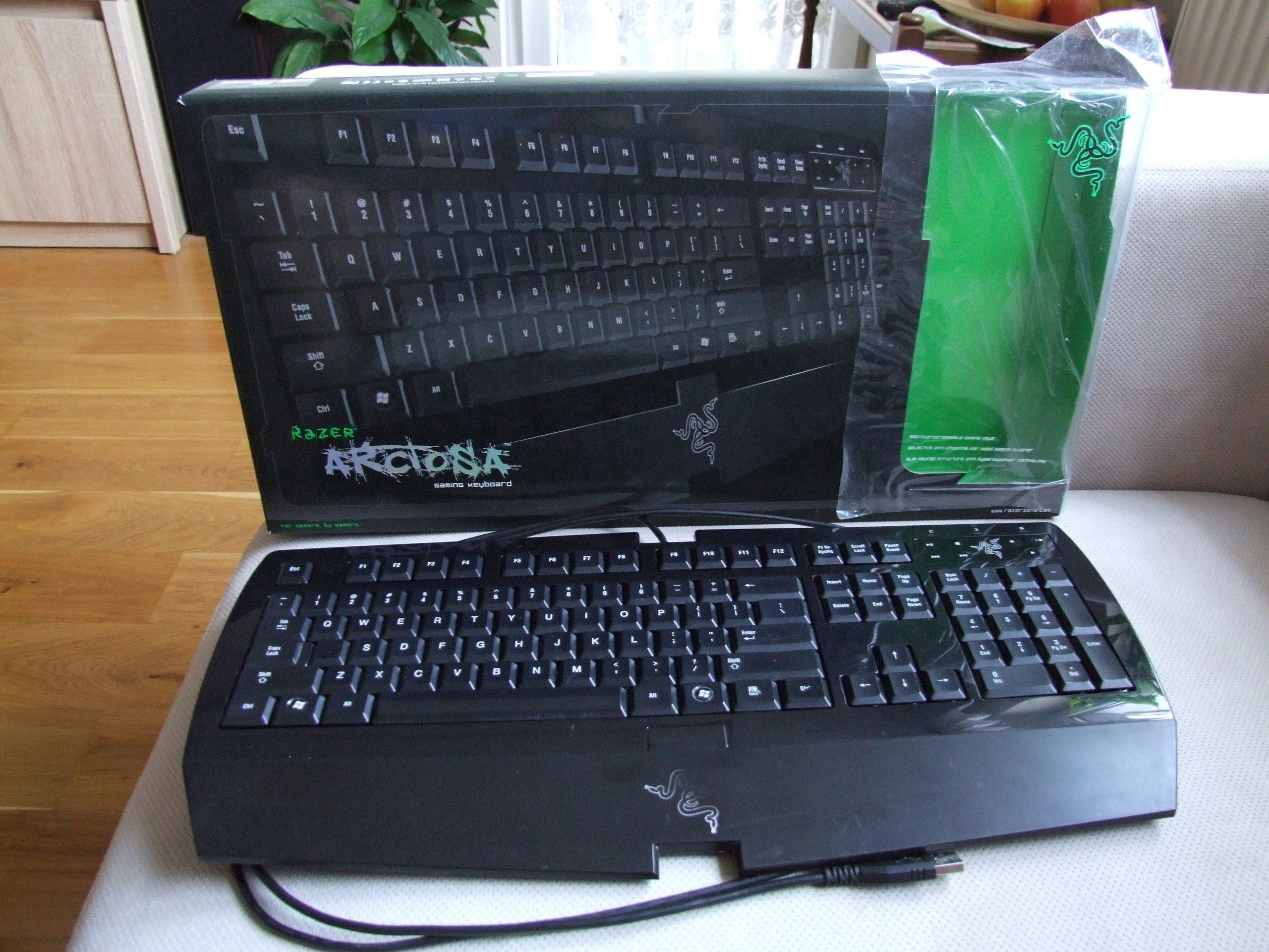 Razer Klawiatura W Oficjalnym Archiwum Allegro Strona 5 Anansi Mmo Gaming Keyboard Rz03 00550100 R3m1 Ofert