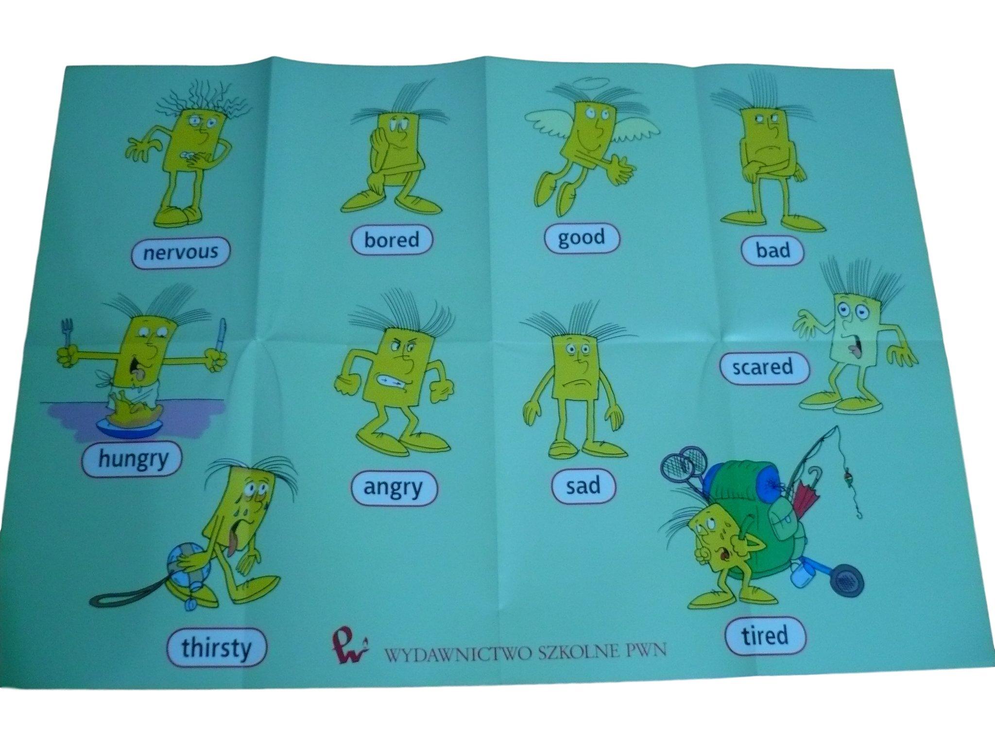 Język Angielski 4 5 6 Plakat Pwn Przymiotniki 6723866313