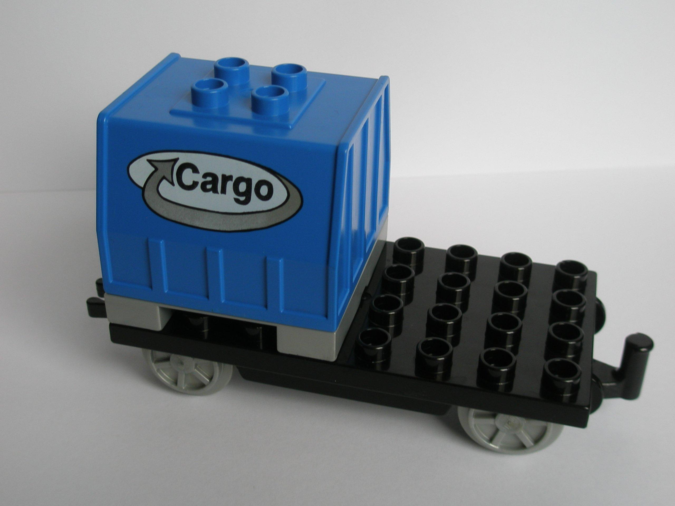 Lego Duplo Pociąg Wagon Towarowy Cargo 7180814713 Oficjalne