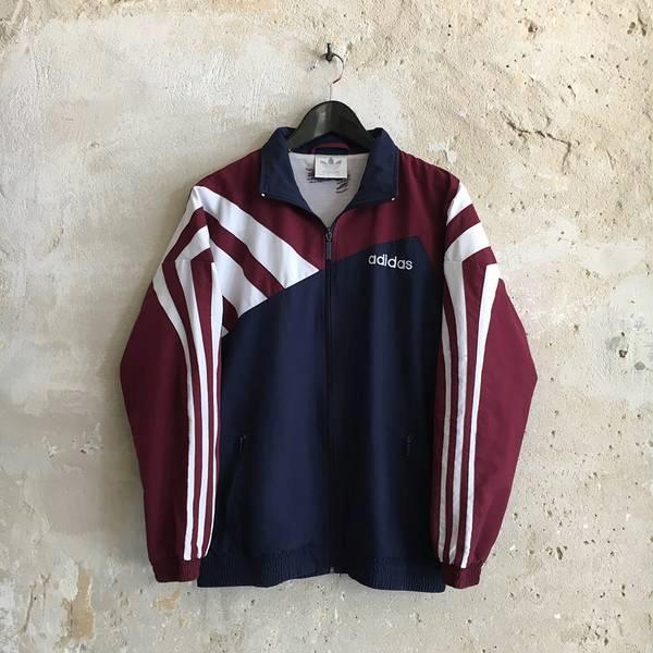 0d61e65c Oldschool M Adidas Rozmiar Kurtka Oficjalne Vintage 7449594589 qF1pvRE
