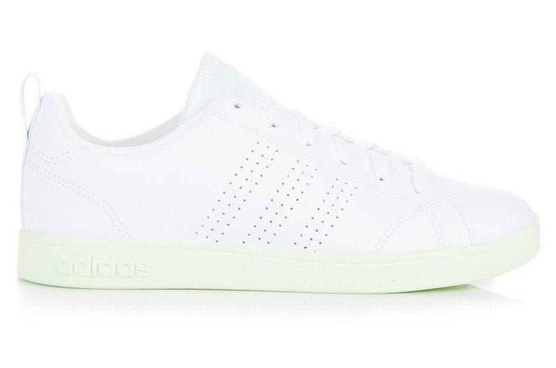 Białe Ze skóry ekologicznej Buty Adidas rozmiar 38,5