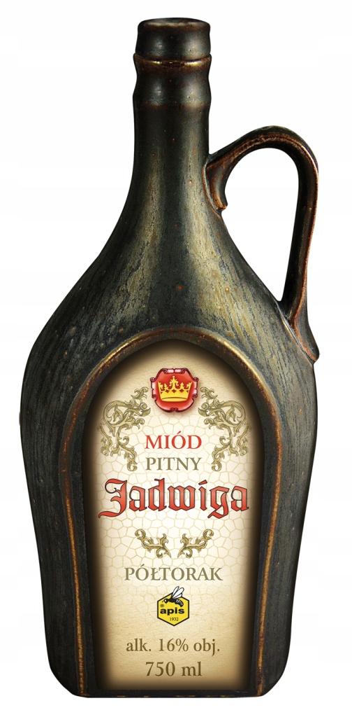 Miód pitny Półtorak Jadwiga w kamionce 750 ml
