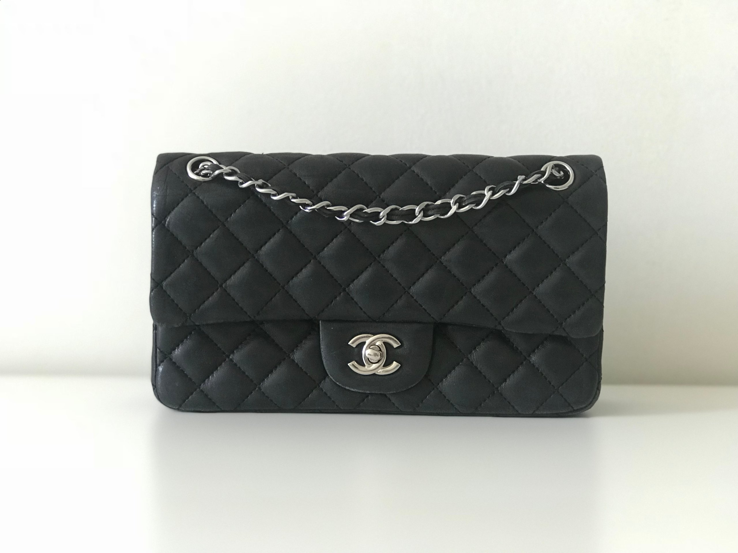 40017a34b6137 Torebka Chanel 2.55 vintage second hand - 7322123659 - oficjalne ...