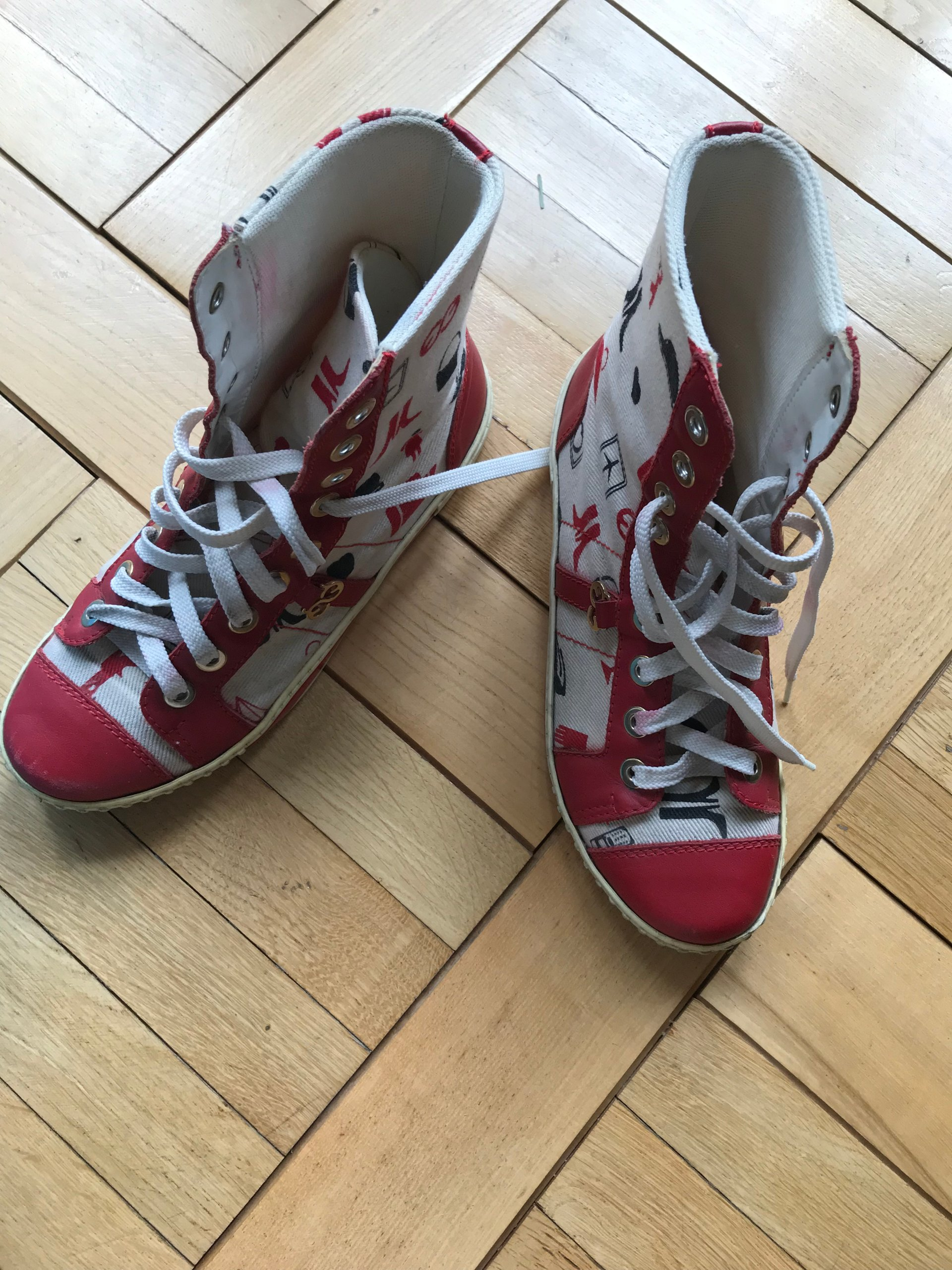 d0178f189fbe5 ESCADA SPORT trampki buty sneaker sneakers r. 37 - 7266203848 ...