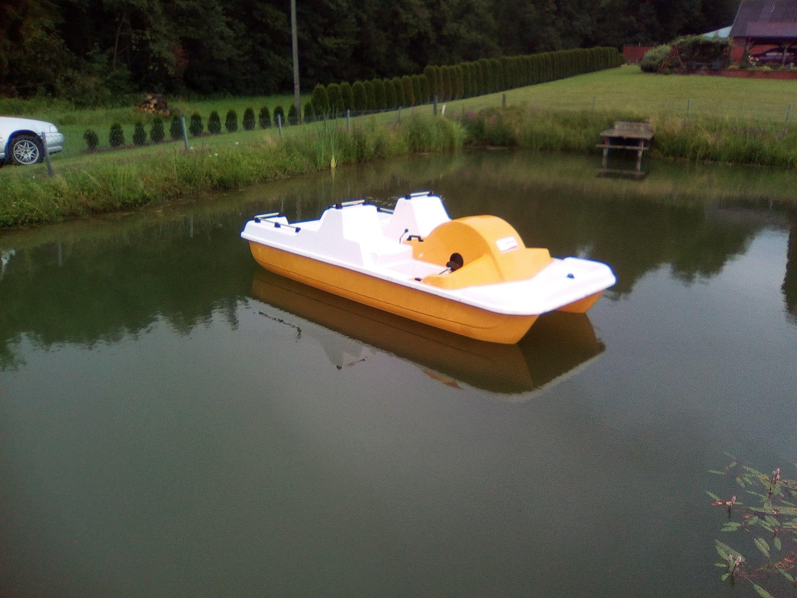 Rower wodny 4 osobowy