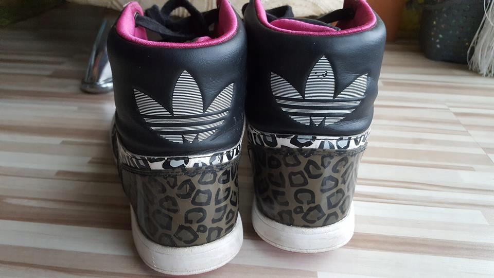 new style ccafa e14a6 ADIDAS buty za kostkę r.38 panterka oryginał.