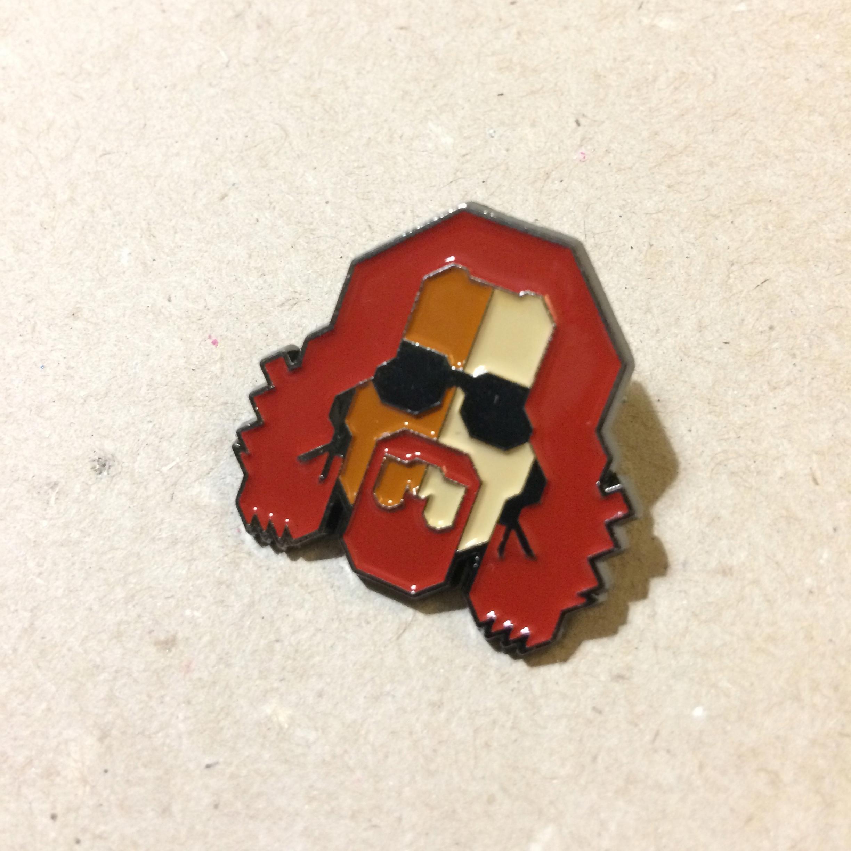 PRZYPINKA metalowa BIG LEBOWSKI enamel pin LOOTPIN
