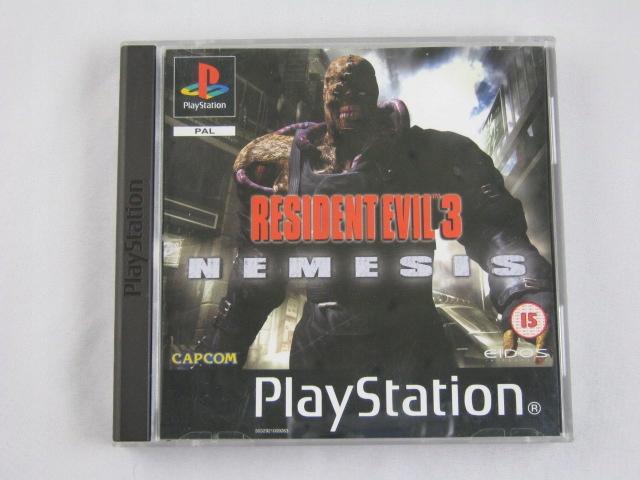 Resident evil 3 ps2