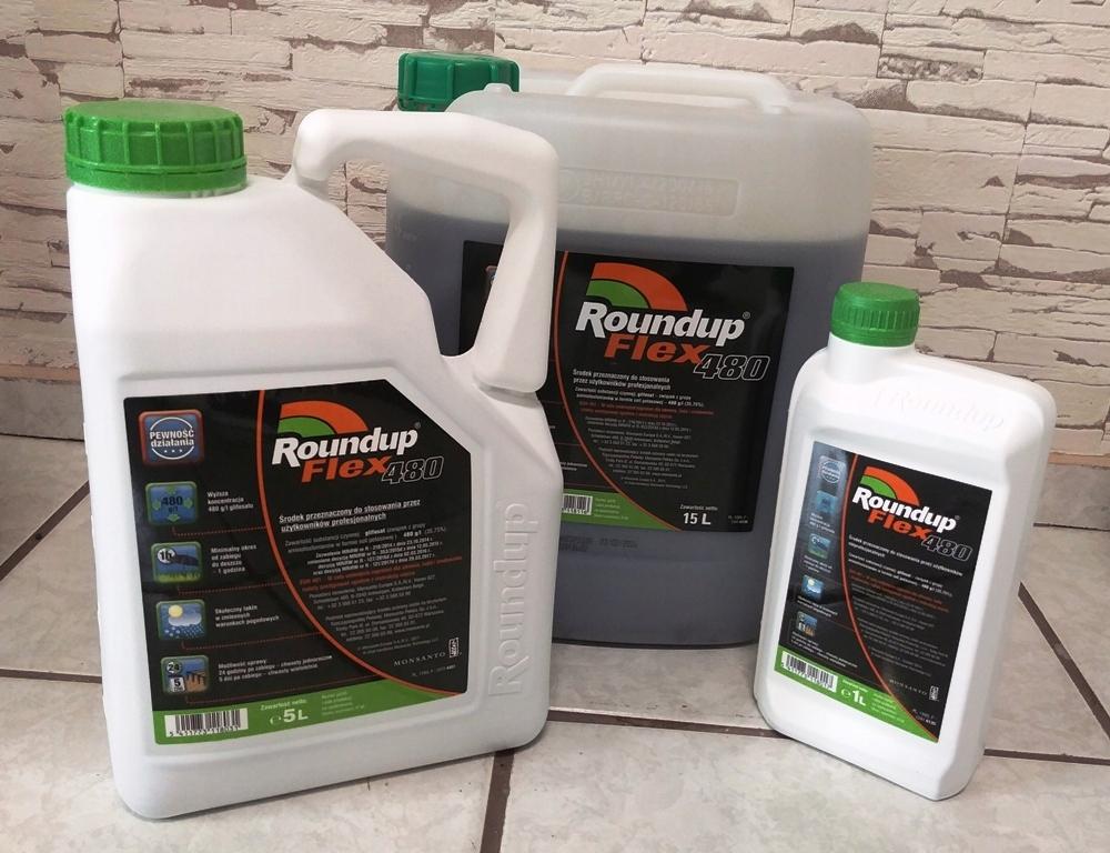 Roundup Flex 480 1l Mocny Monsanto Glifosat 480g 7295870523