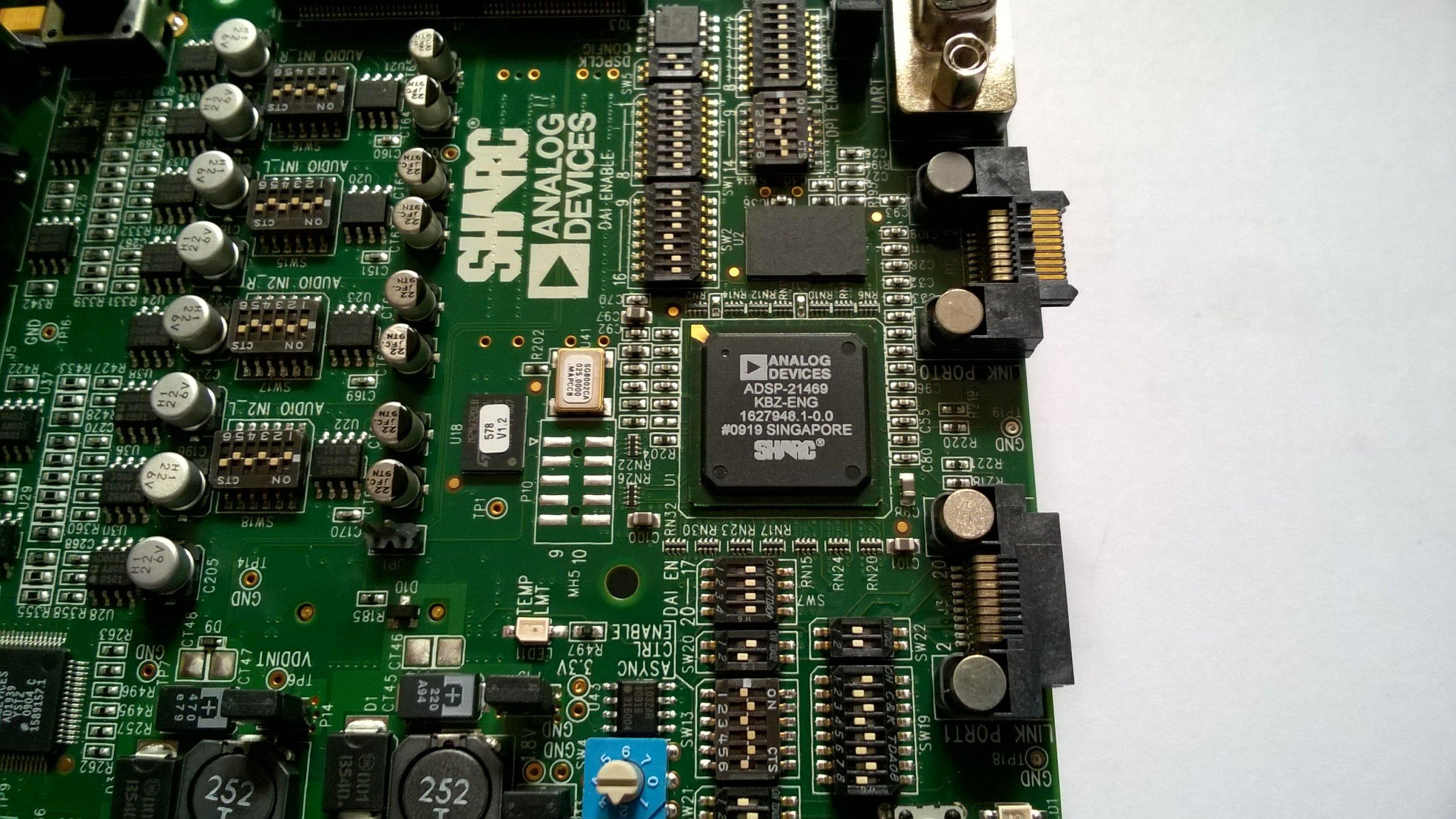 Zestaw rozwojowy Audio SHARC DSP Analog Devices - 7166030617