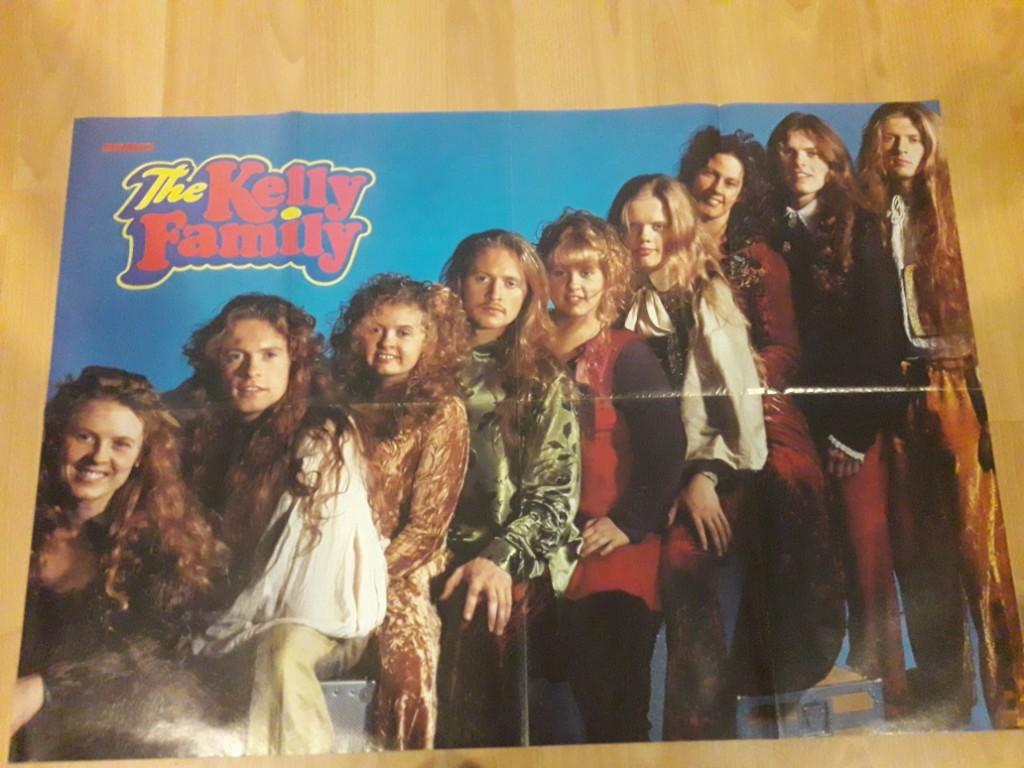 The Kelly Family Oryginał Plakaty Z 90 Lat54szt