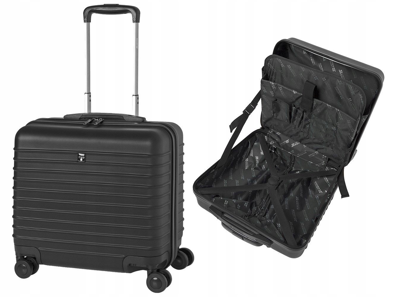 4295591c95f33 Swiss Concept mała walizka kabinowa na laptop 14 - 7404805253 ...