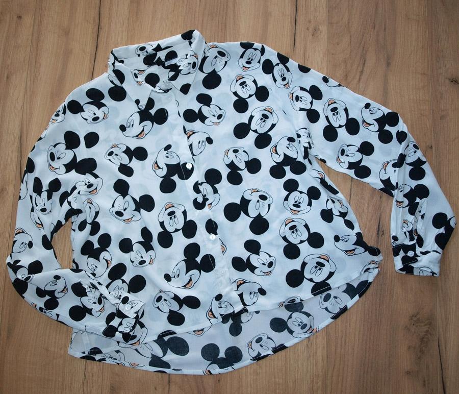 9f07fc868e4356 H&M świetna koszula Myszka Mickey UNIKAT 42 - 7683444132 - oficjalne ...