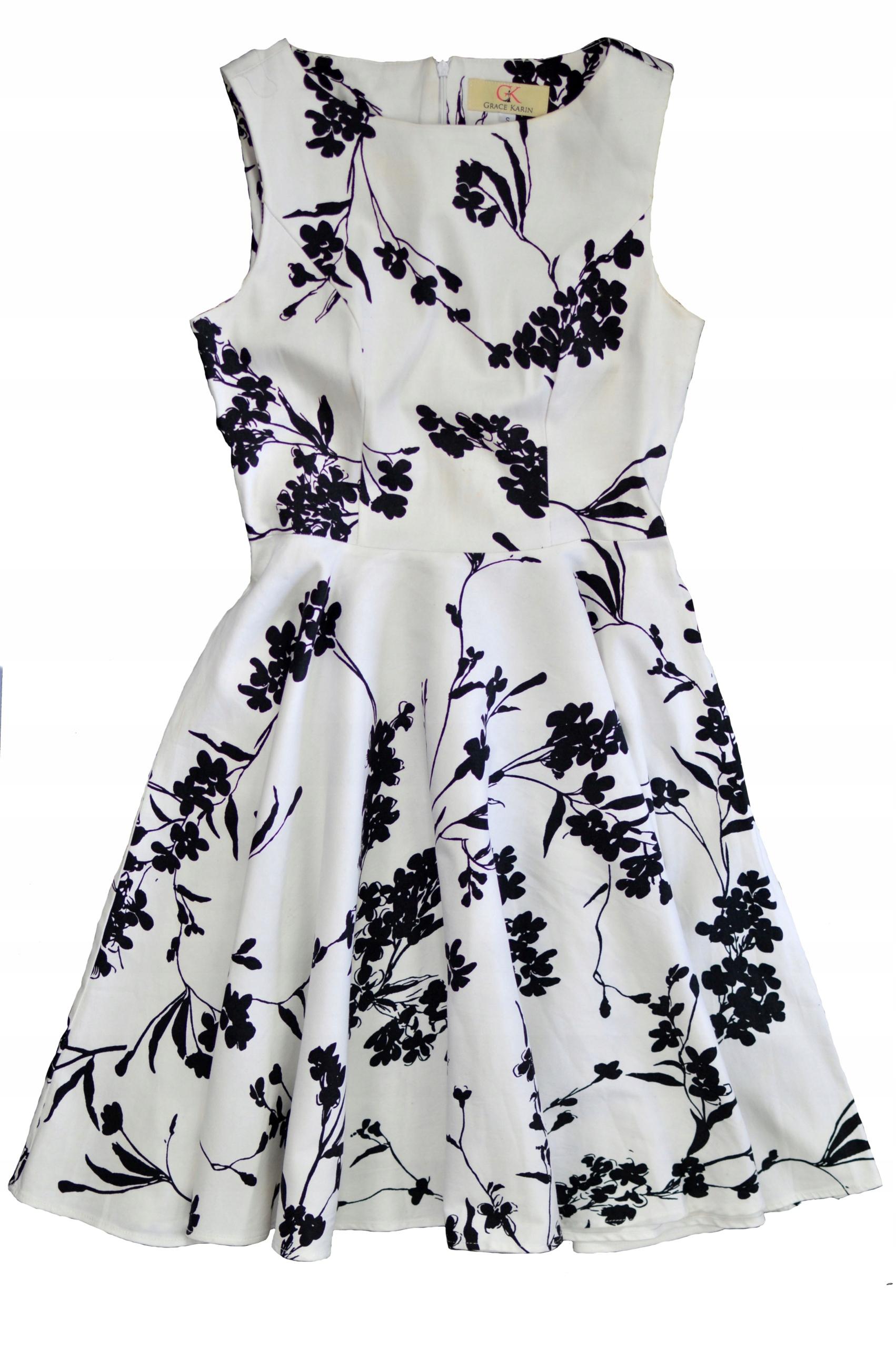 Grace Karin Piękna Sukienka Retro Wesele 36 S 7442511390