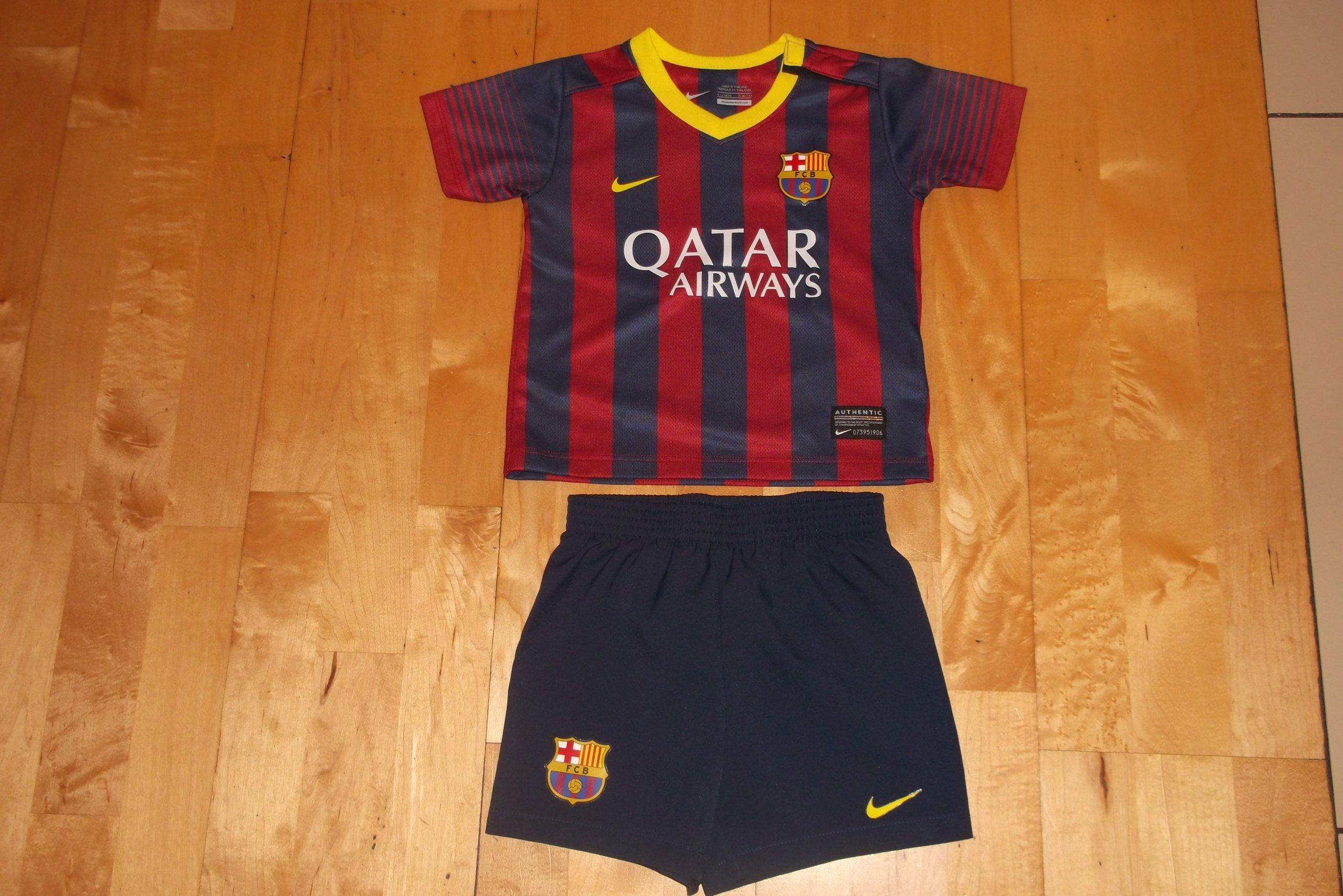 Strój komplet Nike F.C Barcelona 75-80cm 12 m-cy