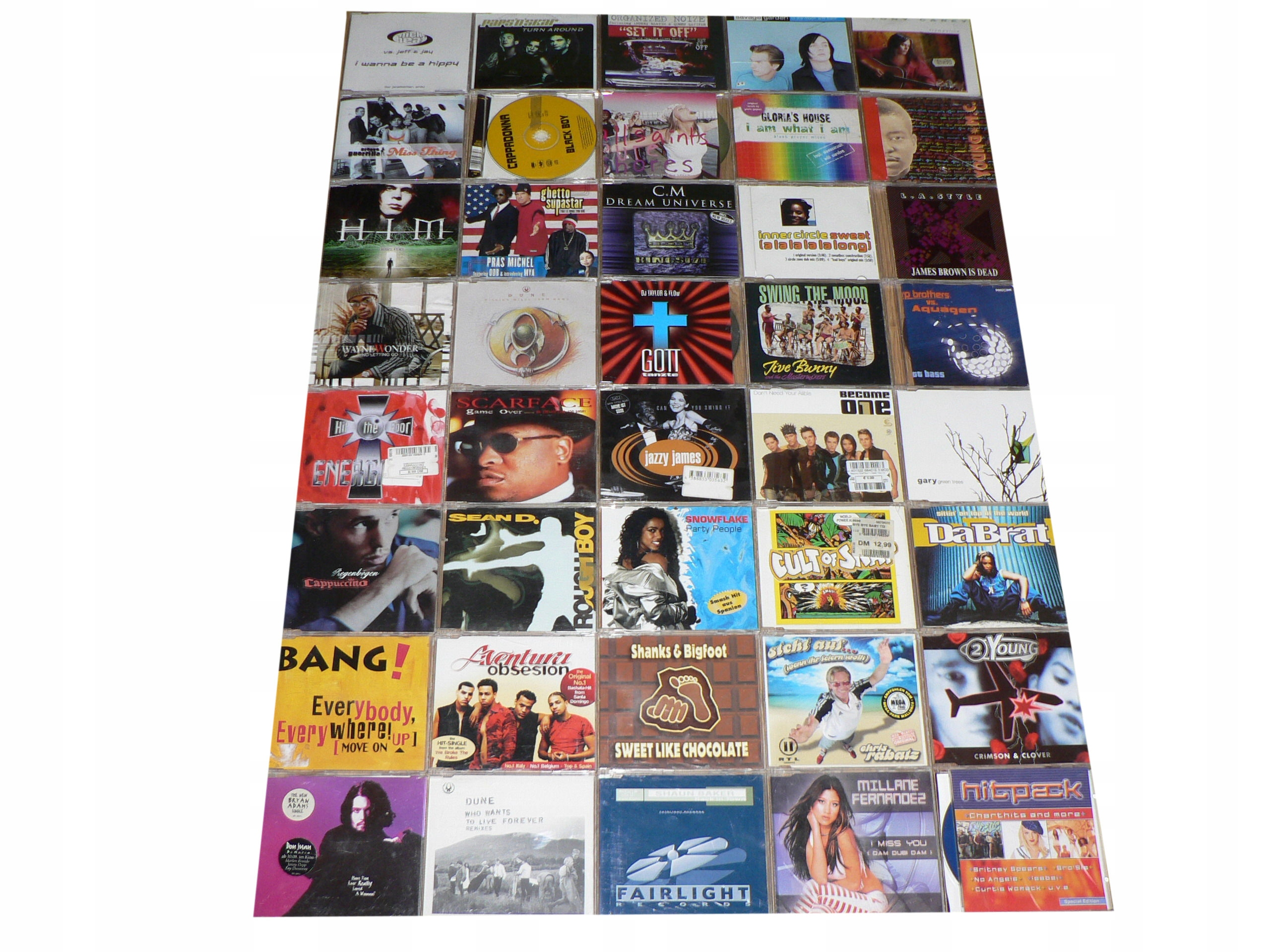 CD - ZESTAW 40 singli Maxi CD