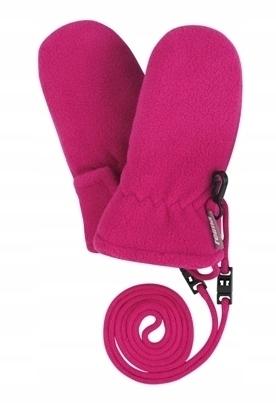 Rękawice polarowe Reima, Mjuk Pink 1