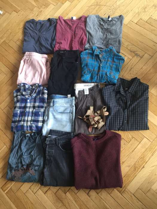 PACZKA H&M New yorker Spodnie spodenki bluzy !